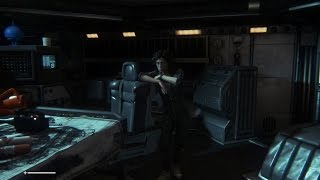 Alien: Isolation - Crew Expendable PC Gameplay, Max Settings & Difficulty