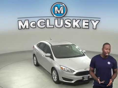 G15040TR Used 2018 Ford Focus Silver Sedan Test Drive, Review, For Sale -