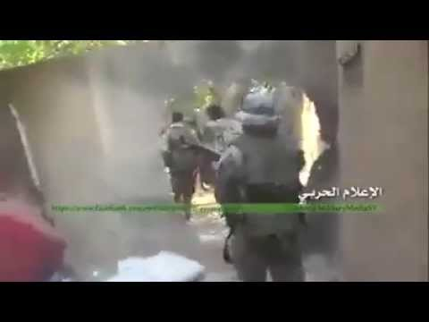 Syrian War 2015 - SAA and Hezbollah close Combat in Zabadani