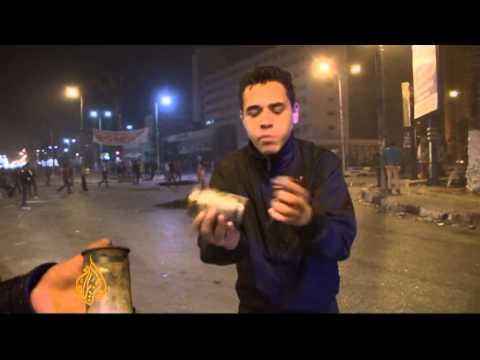 Violent protests rage on in Egypt's Port Said