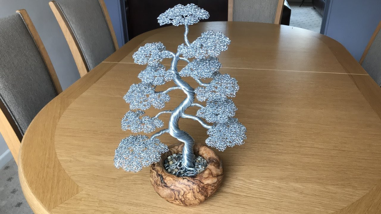 Bonsai Wire Tree Sculpture Timelapse Youtube