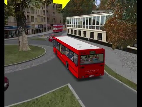 omsi 2 London & South V2.0 route 22 to piccadilly Circus