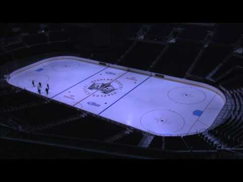 LA Kings ice preparation for 2011-12 NHL season