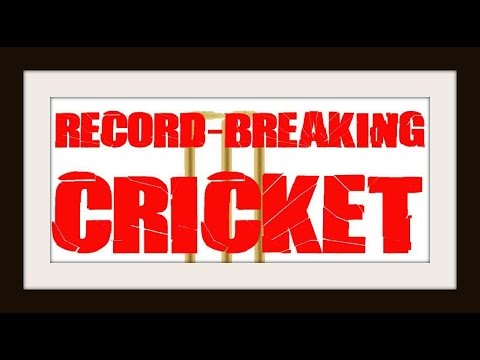 Record Breaking Cricket...Cassette Trash Vol.3