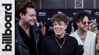lovelytheband Talks 'Maybe I'm Afraid' Music Video & LGBTQ Equality | BBMAs 2019