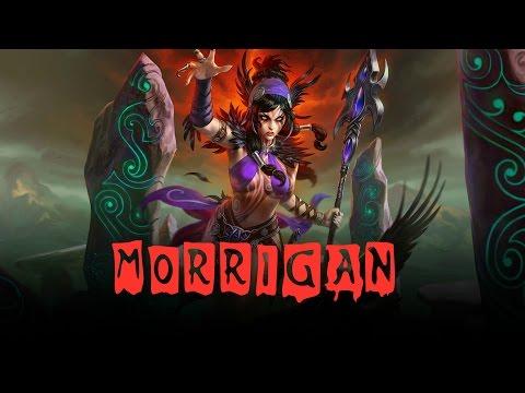 видео: ГАЙД ПО ГЕРОЮ-morrigan - phantom queen | smite 1080p |