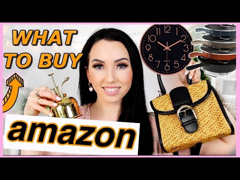 AMAZON THINGS YOU NEED! What to Buy on Amazon 2019
