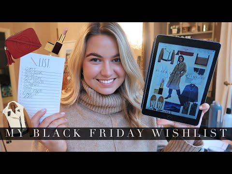 MY BLACK FRIDAY WISHLIST (+ shopping tips) // best sales and discount codes | MOLLIE CAMPSIE