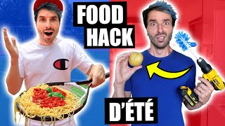 JE TESTE LES FOOD HACKS D'ÉTÉ 2020 LES PLUS INSOLITES - CARL IS COOKING