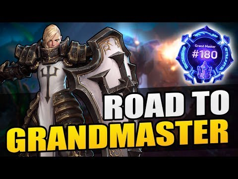 """Johanna - """"double mage gg"""" // Road to Grandmaster 2017 S1 // Heroes of the Storm"""