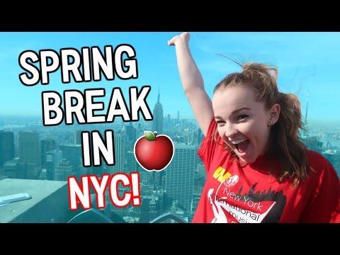 Spring Break in New York! Singing at Carnegie Hall! | Emma Monden