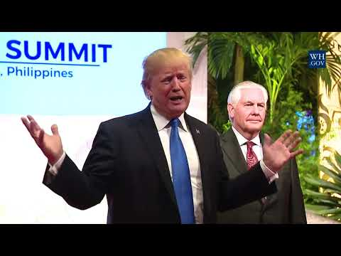 President Trump Makes a Statement after the 12th East Asia Summit Plenary Session