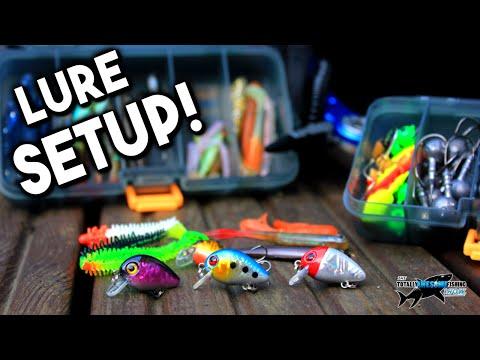 My New Lure Fishing Setup!   TAFishing