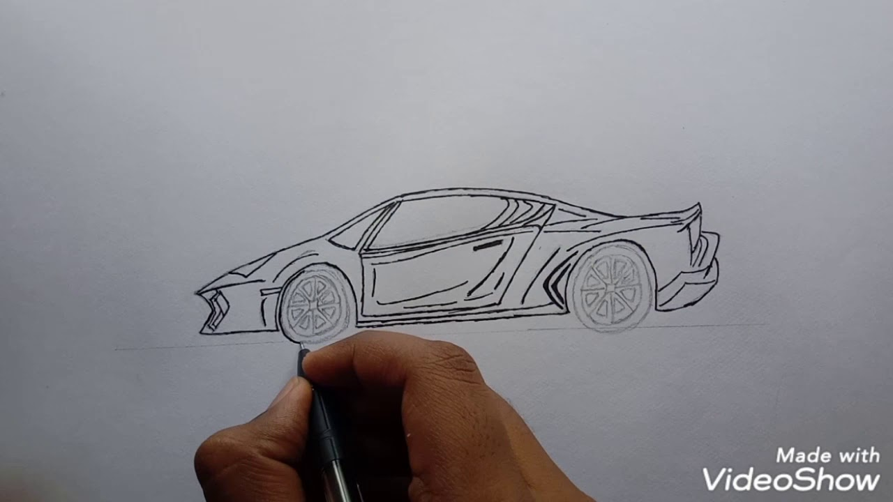How to draw Ferrari outline