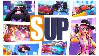 SUP Multiplayer #15 НОВЫЕ КРУТЫЕ ТАЧКИ монстр траки гонки прохождение ИГРЫ ДЛЯ ДЕТЕЙ про машинки