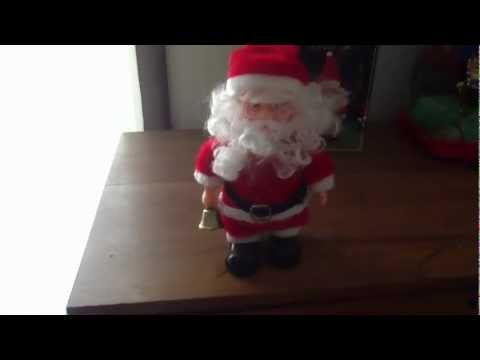 Walking Santa Claus Musical Toy Battery Operated