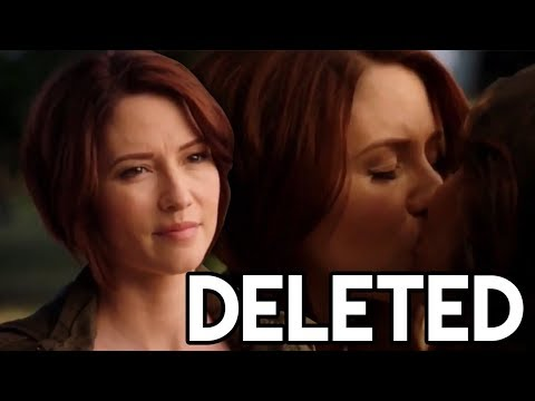 Supergirl SANVERS Deleted   Maggie's Wedding Idea & Kissing Reaction