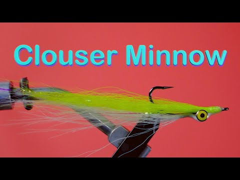 Beginner's Fly Tying Series - Easy Bass Series: The Clouser Minnow