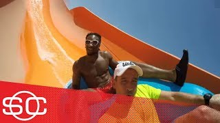 Hitting the water park with Todd Gurley | Hang Time with Sam Alipour | ESPN
