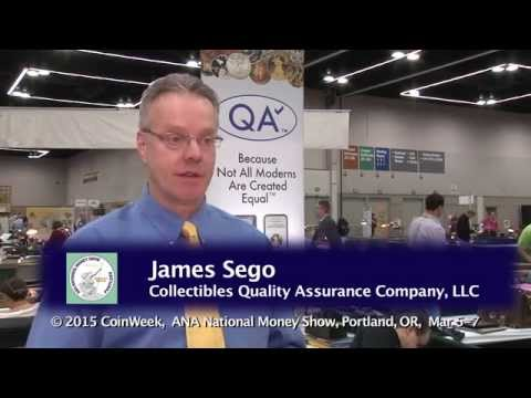 CoinWeek: James Sego Discusses Quality Assurance Check Modern Coin Service. VIDEO: 4:45.
