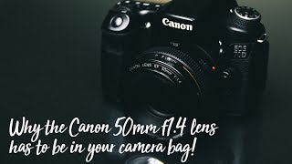 Why the Canon 50mm 1.4 is my favourite wedding lens