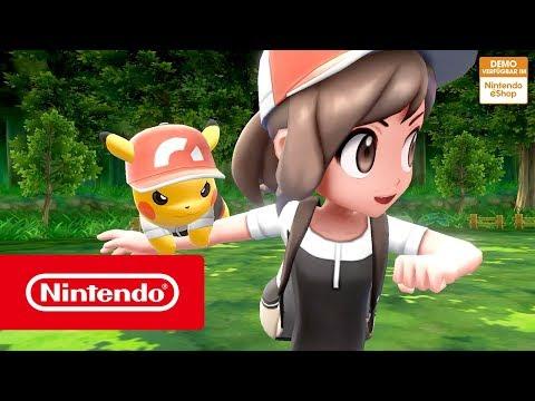 Pokémon: Let's Go, Pikachu! Und Pokémon: Let's Go, Evoli! – Jetzt Die Kostenlose Demo Herunterladen!