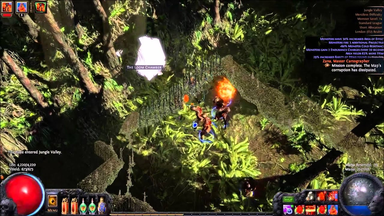 Path Of Exile   Srs Build
