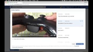 How to Add Facebook Video Subtitles aka Closed Captioning | VIDEOLANE
