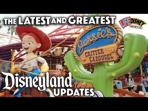 All New Spring 2019 At Disneyland & DCA..The LATEST & GREATEST Food, Merchandise, Attractions & FUN!