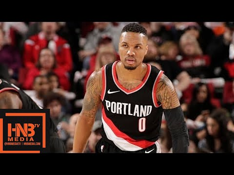 Phoenix Suns vs Portland Trail Blazers 1st Half Highlights / Jan 16 / 2017-18 NBA Season