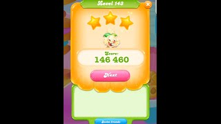 Candy Crush Jelly Saga Level 143
