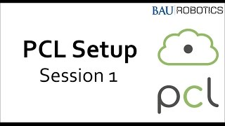 Point Cloud Library setup - Session 1 - Download PCL+PDBfiles+Cmake