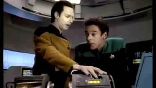 Bashir meets Data