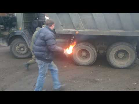 "Армейский КАМАЗ по имени ""ОГОНЬ"""