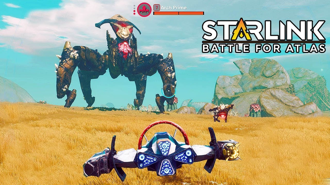 STARLINK: Battle for Atlas - Battling the ARCH PRIME Gameplay E3 2018 @ 1440p HD ✔