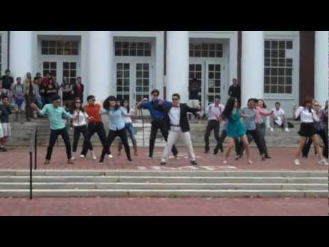 University of Virginia: GANGNAM STYLE - Flash Mob (UVA 강남스타일)