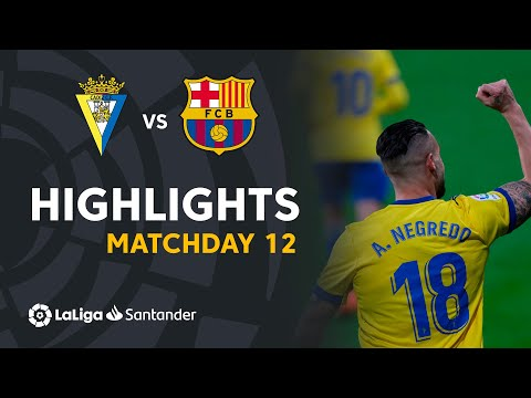 Cadiz Barcelona Goals And Highlights