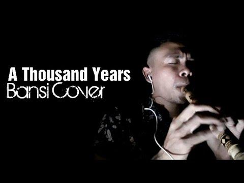 A Thousand Years Bansi Minang Cover