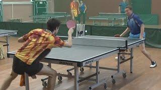 Александр ЛИБАЦКИЙ vs Илья ШАМИН, Турнир Master Open, Настольный теннис, Table Tennis