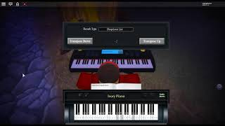 Anima - Deemo by: xi on a ROBLOX piano.
