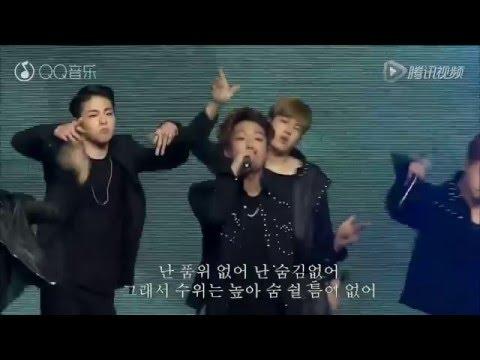 [160322 HD]QQ Music Awards2016  iKON - APOLOGY + DUMB&DUMBER