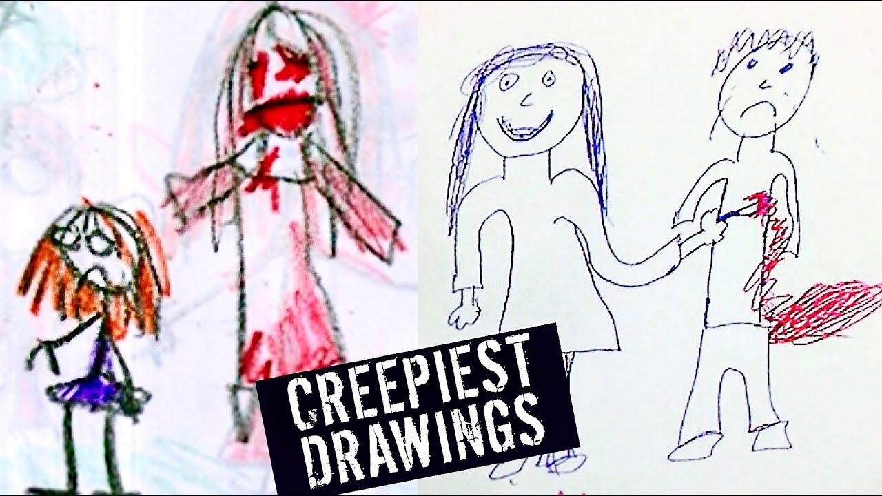 5 creepiest kids drawings - Kids Drawings Images