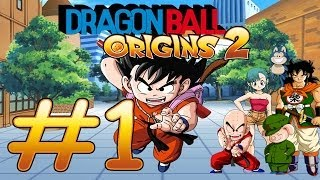 "Dragon Ball: Origins 2 DS Parte 1 ""1-1 El lago vagabundo"""