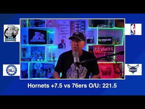 Philadelphia 76ers vs Charlotte Hornets 2/3/21 Free NBA Pick and Prediction NBA Betting Tips