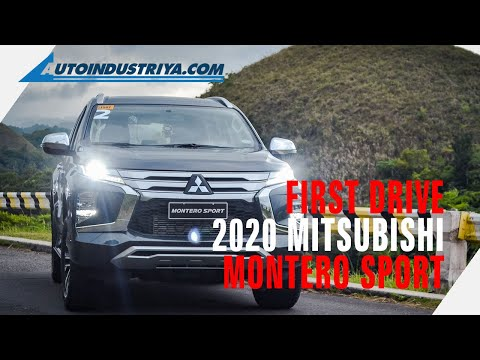 2020 Mitsubishi Montero Sport - First Drive Review