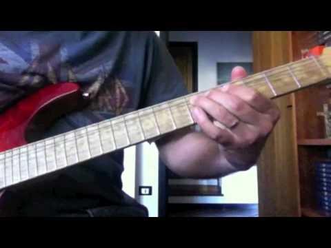 Lorenzo Di Antonio - Meet Me Halfway (Kenny Loggins) - Guitar Solo