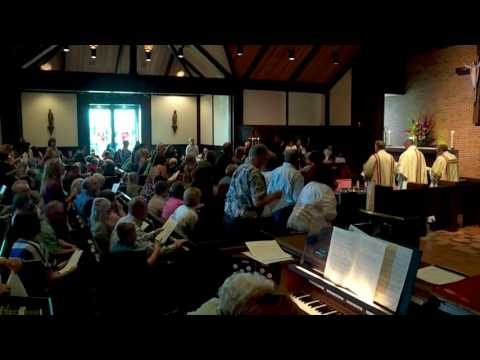 Worship at St. Augustine, Oklahoma City with the Presiding Bishop (9-11-16)