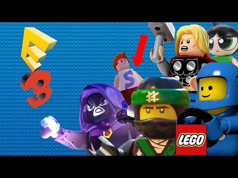 LEGO Marvel 2, Worlds et Dimensions à l'E3