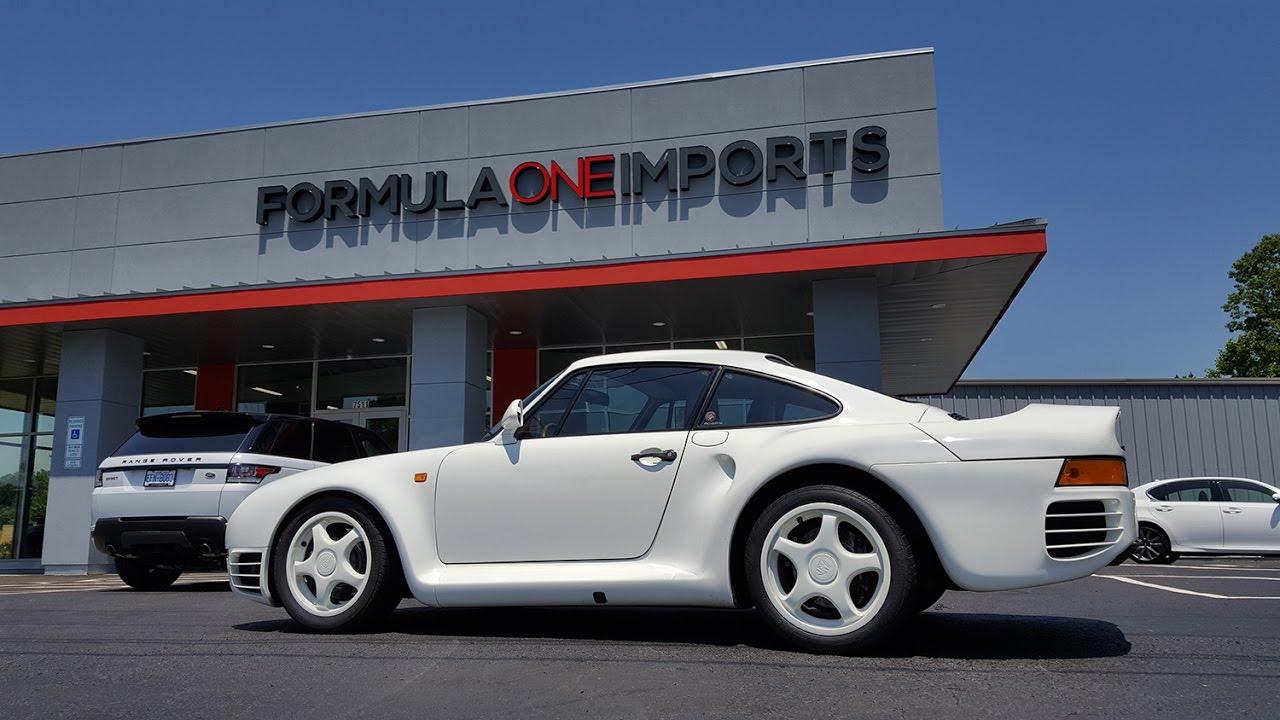 Porsche 959 For Sale >> 1985 Porsche 959 For Sale Formula One Imports Charlotte Youtube