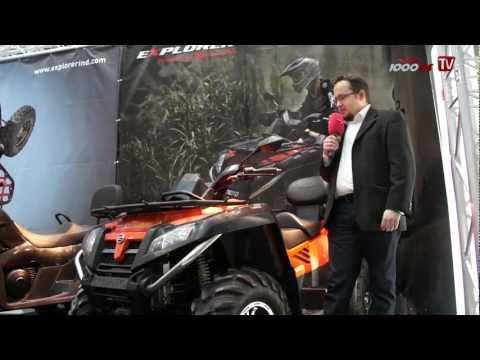 Explorer Terralander 800 ATV Vorstellung / Generic News Foto